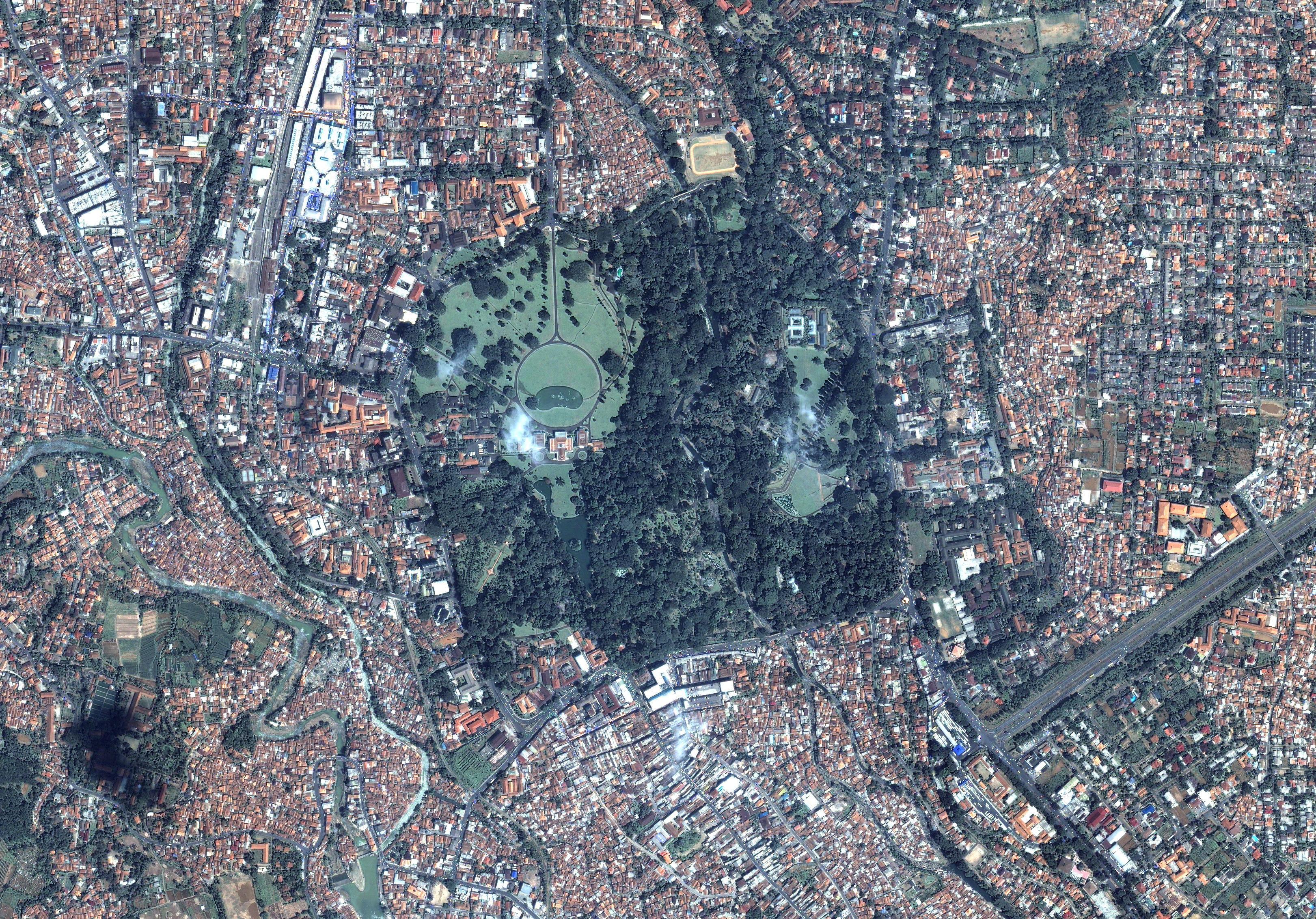 Jakarta Muholdas Terkep Terkep Jakarta Muholdas Java Indonezia
